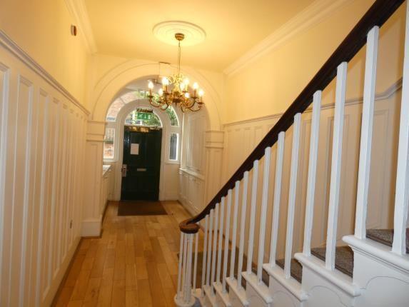 Communal Hallway of Burleigh Mews, 10 Stafford Street, Derby, Derbyshire DE1