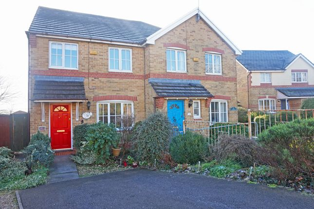 Thumbnail Semi-detached house for sale in Cae Ffynnon, Penybryn