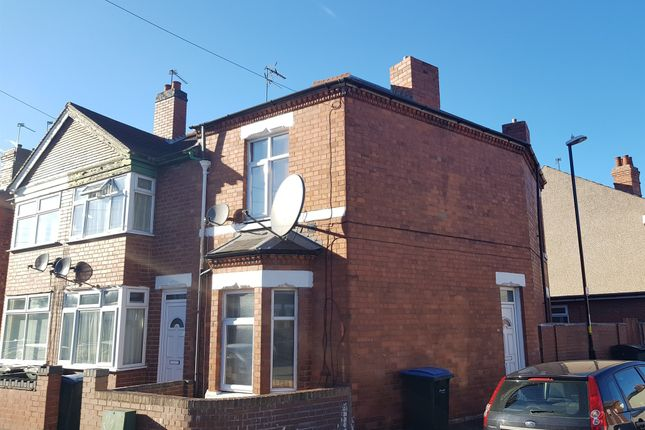 Thumbnail End terrace house for sale in Dorset Road, Radford, Coventry
