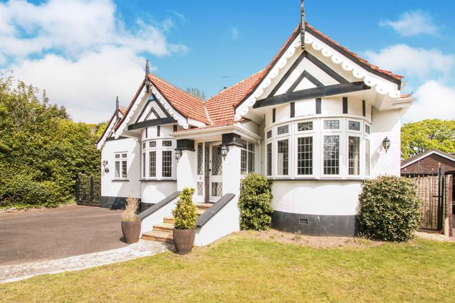 Thumbnail Detached bungalow for sale in Friars Road, Friars Cliff, Mudeford, Christchurch