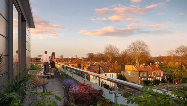 Thumbnail Flat for sale in Noma, St Johns Road, Isleworth, Middlesex