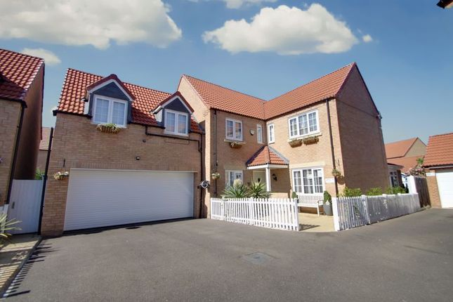 Thumbnail Detached house for sale in Magnus Close, Stanground/Cardea, Peterborough