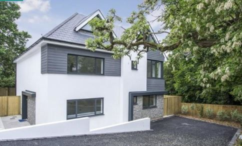 Thumbnail Town house for sale in Danecourt Road, Poole