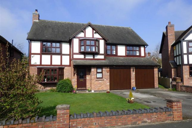 Thumbnail Detached house for sale in Chartwell Park, Sandbach