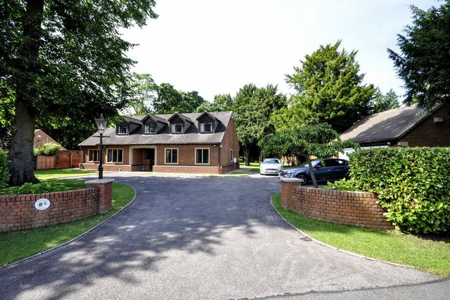 Thumbnail Detached house for sale in Manor Park, Kings Bromley, Burton-On-Trent