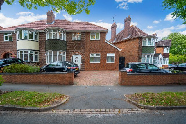 Thumbnail Semi-detached house for sale in Berkswell Road, Birmingham