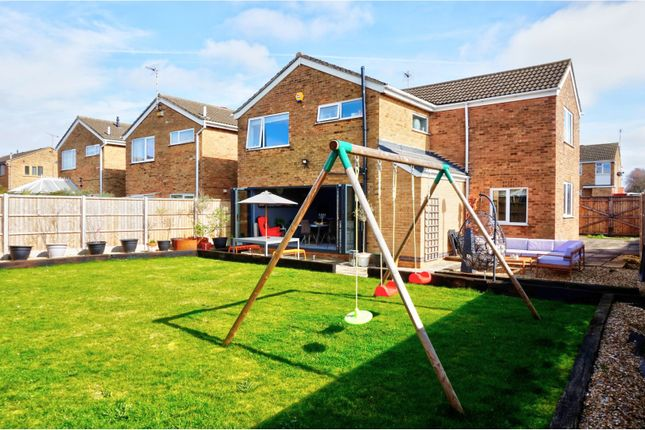 Thumbnail Detached house for sale in Georgeham Close, Wigston