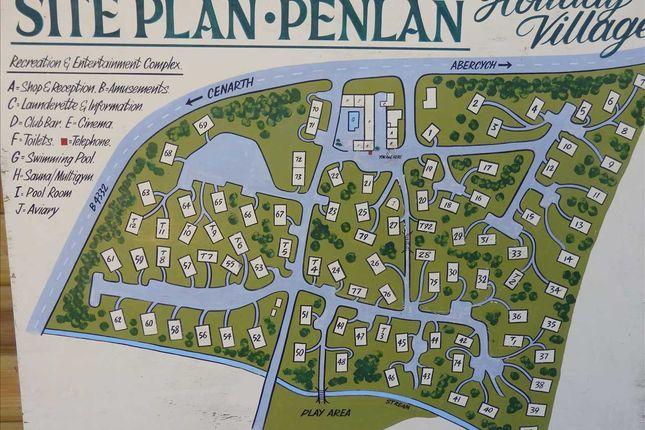 Thumbnail Land for sale in Penlan Holiday Village, Cenarth, Newcastle Emlyn