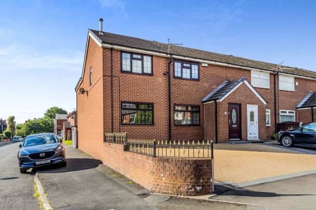 Thumbnail Semi-detached house for sale in Stamford Square, Ashton-Under-Lyne, Lancashire, Greater Manchester