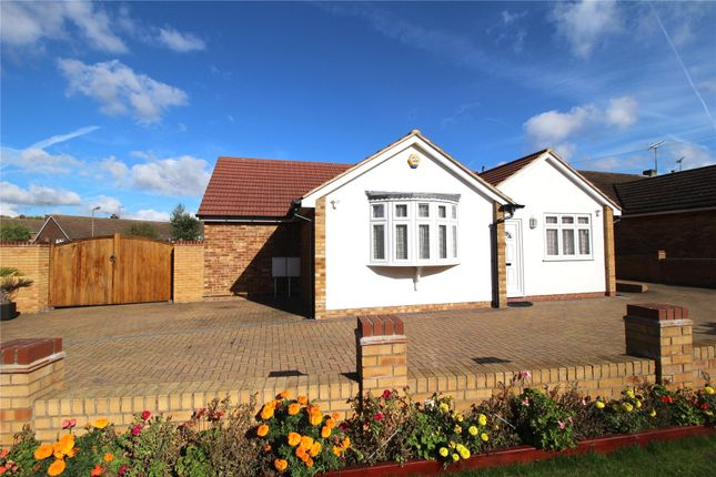 Thumbnail Detached bungalow for sale in Woodland Avenue, Hutton, Brentwood, Essex