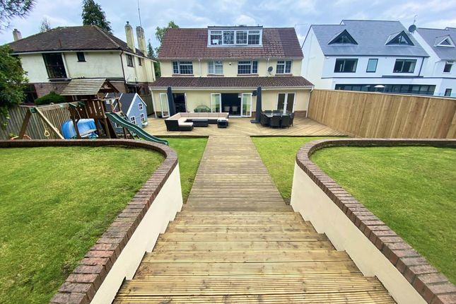 Thumbnail Detached house to rent in Compton Avenue, Canford Cliffs, Poole