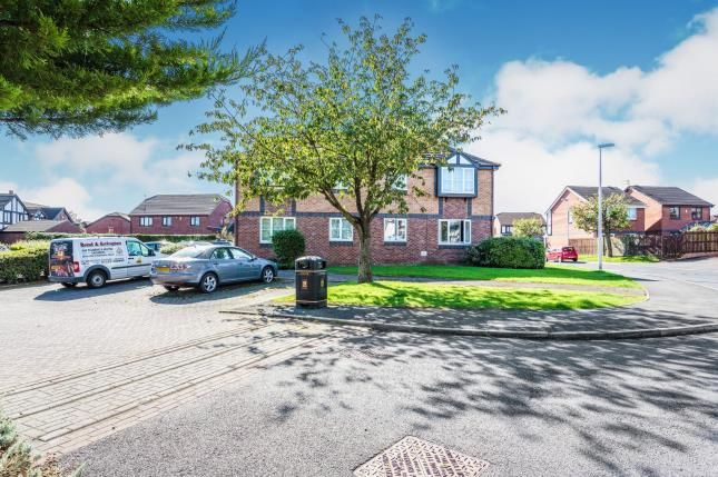 Rear Views of Greenfinch Court, Blackpool, Lancashire FY3