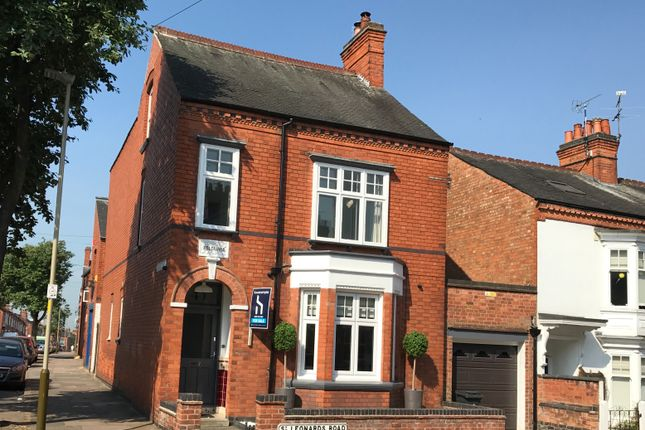 Thumbnail Detached house for sale in St. Leonards Road, Leicester