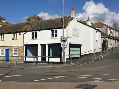 Thumbnail Retail premises to let in 1-2 Alverton Terrace, Penzance, Cornwall