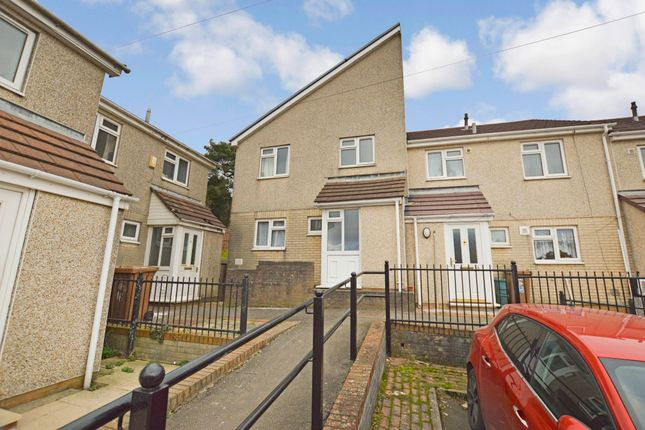 Thumbnail End terrace house for sale in Twyn Gardens, Cefn Fforest, Blackwood