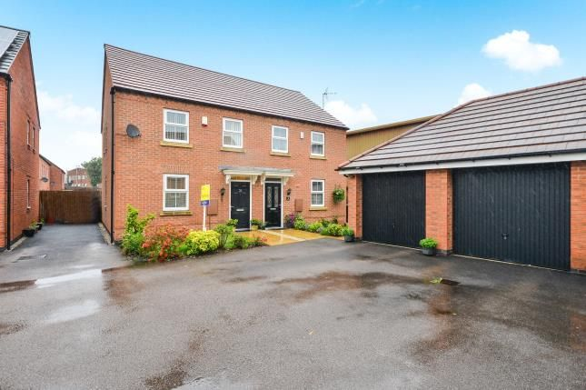 Thumbnail Semi-detached house for sale in Sunstone Grove, Sutton-In-Ashfield, Nottinghamshire