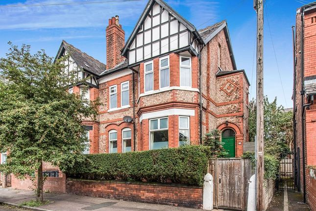 Thumbnail Semi-detached house for sale in Grosvenor Road, Whalley Range, Manchester