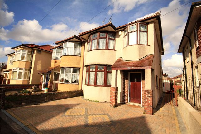 Thumbnail Semi-detached house for sale in Oldbury Court Road, Oldbury Court, Fishponds, Bristol