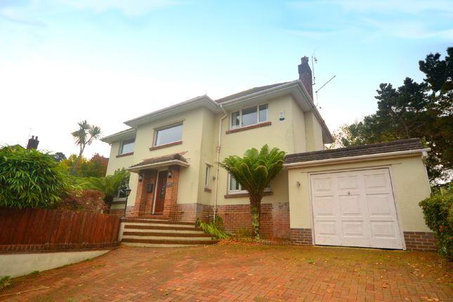 Thumbnail Detached house for sale in Lilliput Road, Lilliput, Poole, Dorset