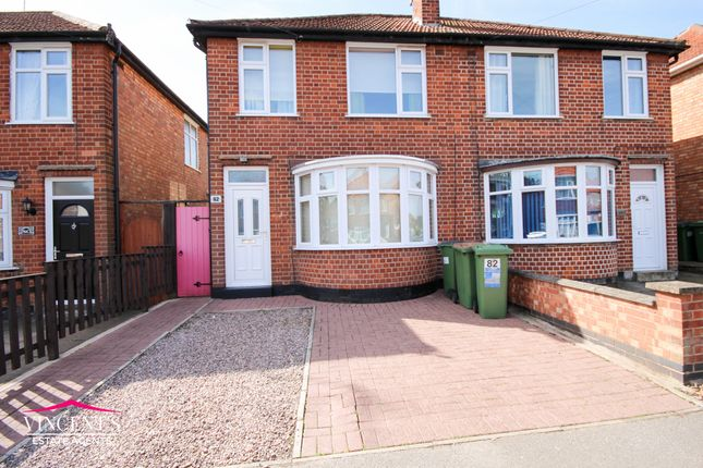 Thumbnail Semi-detached house for sale in Ravenhurst Road, Leicester