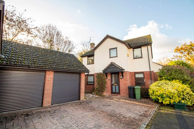 Thumbnail Detached house for sale in Pettys Brook Road, Chineham, Basingstoke
