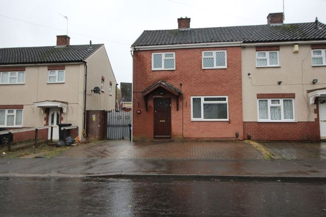 Thumbnail Semi-detached house to rent in Middlepark Road, Dudley