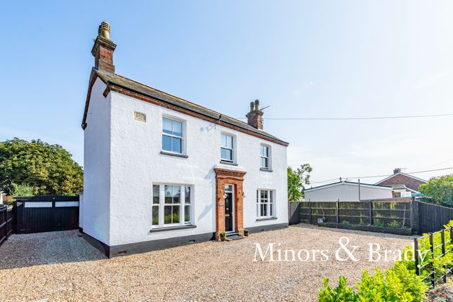 Thumbnail Detached house for sale in Private Road, Oulton Broad, Lowestoft