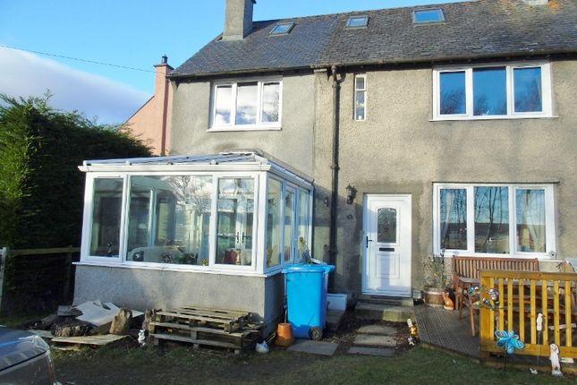 Thumbnail End terrace house for sale in Newton Road South, Evanton