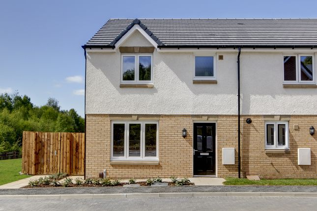 Thumbnail Semi-detached house for sale in Burnside View, Coatbridge