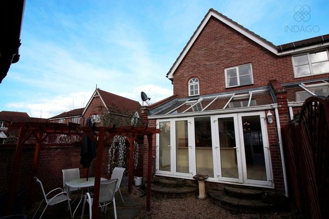 Thumbnail Semi-detached house for sale in Davenport, Harlow