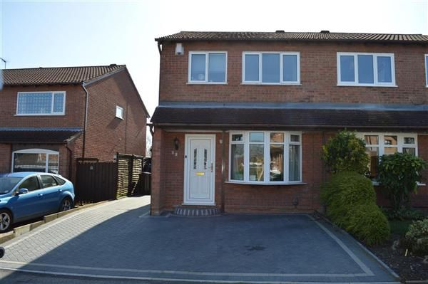 Thumbnail Semi-detached house to rent in Eastbury Drive, Olton, Solihull