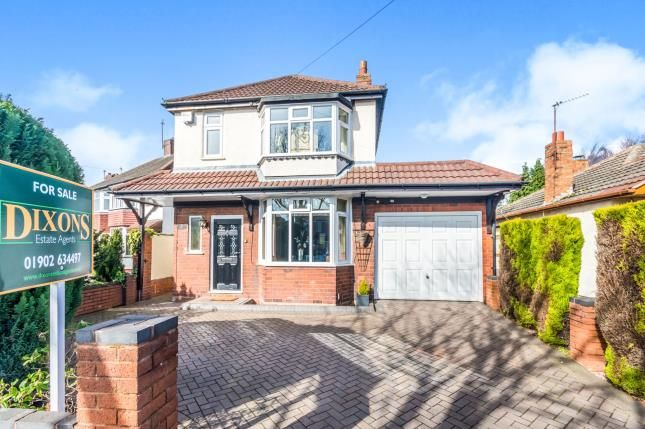 Thumbnail Detached house for sale in Broad Lane South, Wolverhampton, West Midlands
