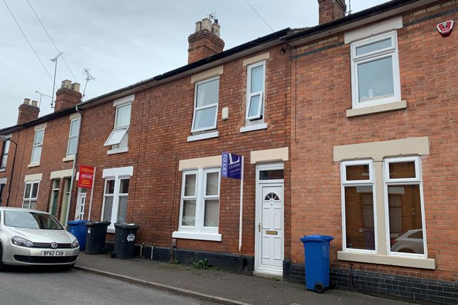 Thumbnail Terraced house to rent in Redshaw Street, Derby