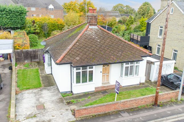 Thumbnail Detached bungalow for sale in Victoria Crescent, Royston