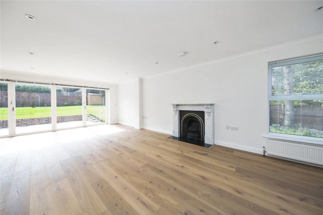 Thumbnail Detached house for sale in Manor Chase, Weybridge, Surrey