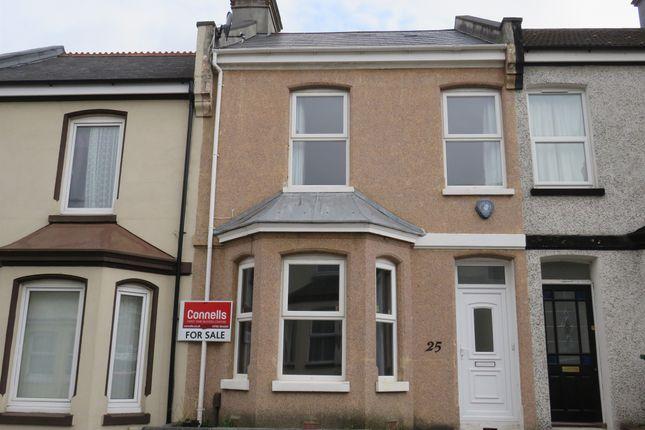 Thumbnail Terraced house for sale in Ocean Street, Keyham, Plymouth