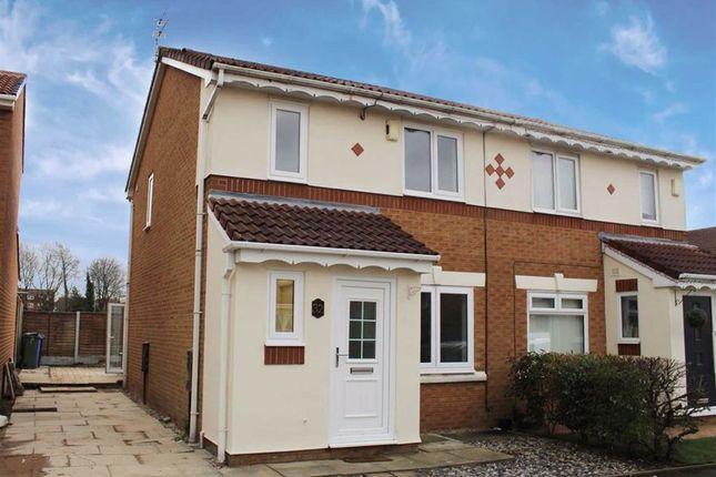 Thumbnail Semi-detached house for sale in Saxon Drive, Droylsden, Manchester