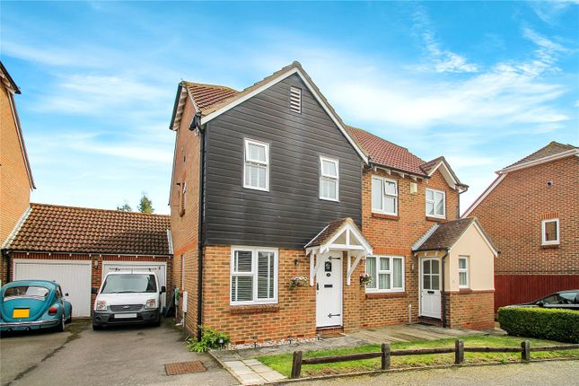 Thumbnail End terrace house to rent in Grandsire Gardens, Hoo, Rochester, Kent