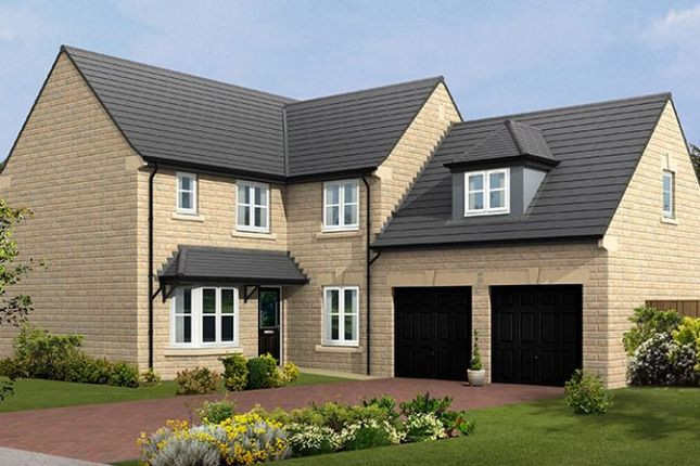 "Thumbnail 5 bed detached house for sale in ""The Portchester Stone"" at Chesterfield Road, Matlock Moor, Matlock"
