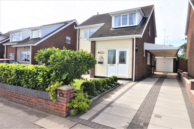 Thumbnail Detached house for sale in Grasby Crescent, Grimsby