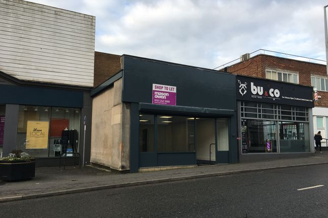 Thumbnail Retail premises to let in 13 Pensby Road, Heswall