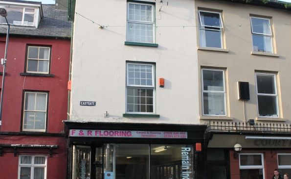 Thumbnail Flat to rent in Maisonette Flat, 25 Eastgate Street, Aberystwyth
