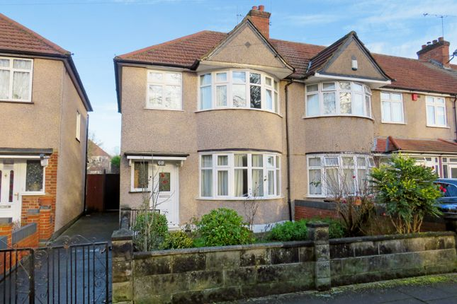 Thumbnail End terrace house for sale in Clifford Road, Wembley, Middlesex