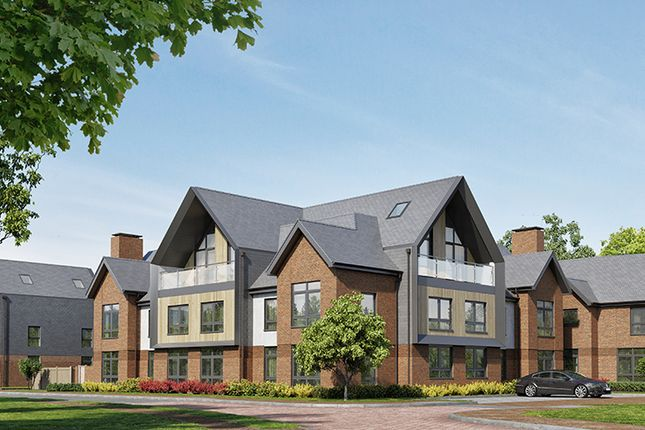 "Thumbnail Flat for sale in ""Chieftain"" at Kitsmead Lane, Longcross, Chertsey"