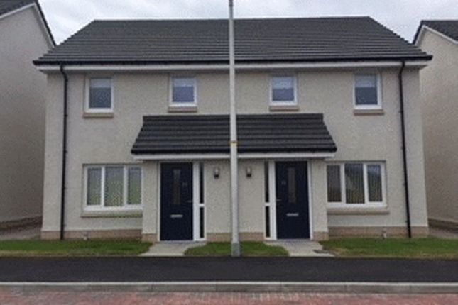 Thumbnail Semi-detached house for sale in Broom Court, Conon Bridge, Dingwall
