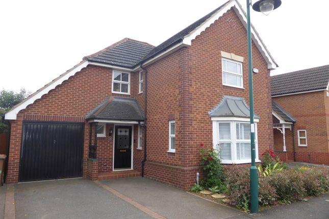 Thumbnail Detached house for sale in Archers Wood, Hampton Hargate, Peterborough