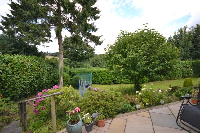 Rear Garden of Cedar Hill, Alton, Stoke-On-Trent ST10