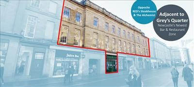Thumbnail Restaurant/cafe to let in 7-21 Nelson Street, Newcastle Upon Tyne