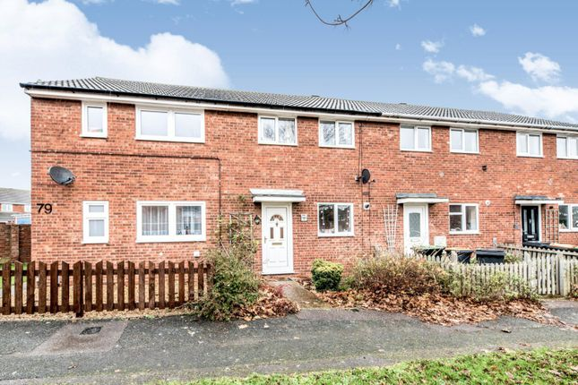 Thumbnail Terraced house to rent in Whitebeam Close, Kempston, Bedford