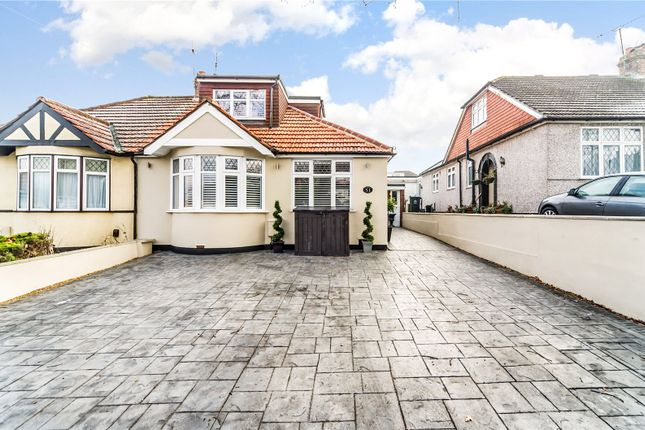 Thumbnail Semi-detached bungalow for sale in Summerhouse Drive, Bexley, Kent